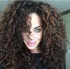 fashion elastic band brazilian hair glueless full lace wig