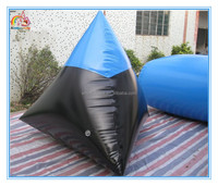 Factory price inflatable paintball field for sport games,cheap obstacle inflatable paintball bunkers for sale