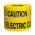 Cinta de precaución en color amarillo, suministros de alta calidad