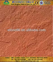 Fine grain structure Red sandstone wall mushroom sandstone