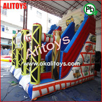 small commercial inflatable slides inflatable car model inflatable cartoon car model