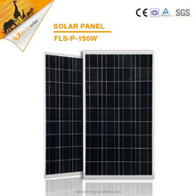 High quality high efficiency 150w poly solar cells, solar panel