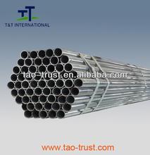 "ASTM 1""*2.5mm Hot dip galvanized round steel tube"