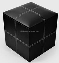 High quality leather sex furniture ottman hot storage ottoman