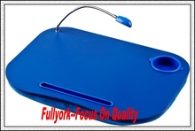 My Place Cozy As Seen On TV Cushioned Portable Laptop Lap Desk Table Tray Cushion With Light
