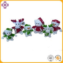Christmas plush animals