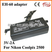 High quality with less price for Nikon EH-60 power adapter for cctv cameras