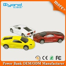 Best promotional items car shape power bank 5600mah with fcc ce rohs for smart phones