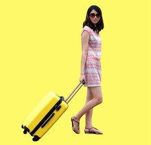New design hot sale travel luggage set, Four wheels trolley case