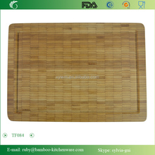 TF084/ End Grain German Quality Counter Durable Asepsis Sterile Bamboo Cutting Chopping Board