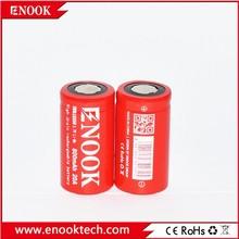 Good news Enook 18350 800mAh 20A 3.7V Li-Mn battery with flat top
