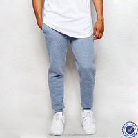 alibaba china sports clothing set for men, youth quilted jogger sweatpants blank