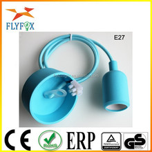 Hot sell China Sockets and Switch light bulb socket adapter E27 Socket with Solicon ceiling Mounting