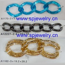 jewelry chain makers, many colors and many shapes avaliable, wholesale jewelry finding