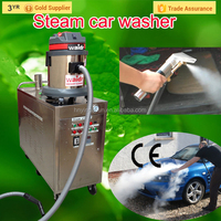 CE no boiler 30 bar 2 guns diesel vapor steam car washer/mobile vapor electric second hand steam boiler
