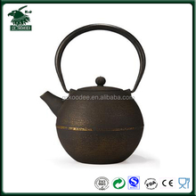 LFGB qualified iron cast tea pot, antique cast iron pots, cast iron coffee pot