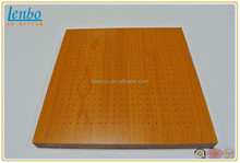 15mm thick Micropore perforated Acoustic Panel for ceiling & wall decoration