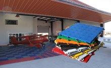 Top level hot sale international standard tennis court