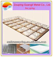 Chinese low price King size mattress box spring bed; box spring unit