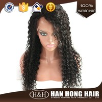 Wholesale cheap fashion sexy curly human hair full lace wig