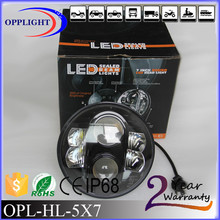 OPPLIGHT led motorcycle headlight harley led 7inch for harley and jeep