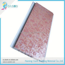 Popular for the market factory directly middle groove pvc wall panel