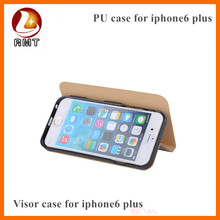 Attractive design unique stand design case cover for iphone 6 plus,keep out sunshin from view