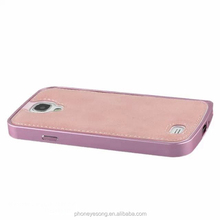 Litchi leather mobile phone pu case for samsung galaxy s4