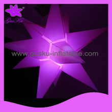 2015Gus-LT-053 Hot sale decoration, fashion LED inflatable stars, popular decoration wholesale