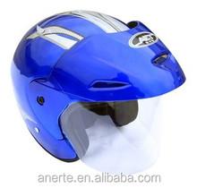 Anerte moins cher populaire safe moitié du visage moto casque b abs / pp