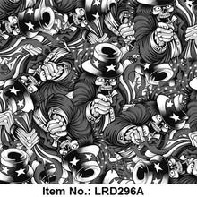 Liquid Image Exlusive design hydrographic film Item No.LRD296A