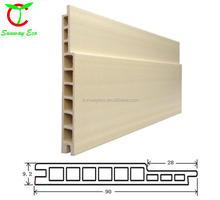 wpc wall sliding doors wood plastic composites(TCB-90GWP)