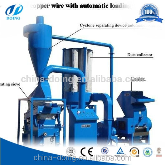 Scrap Copper Wire Recycling Granulator Machine 60317304301 on my copper wire granulator