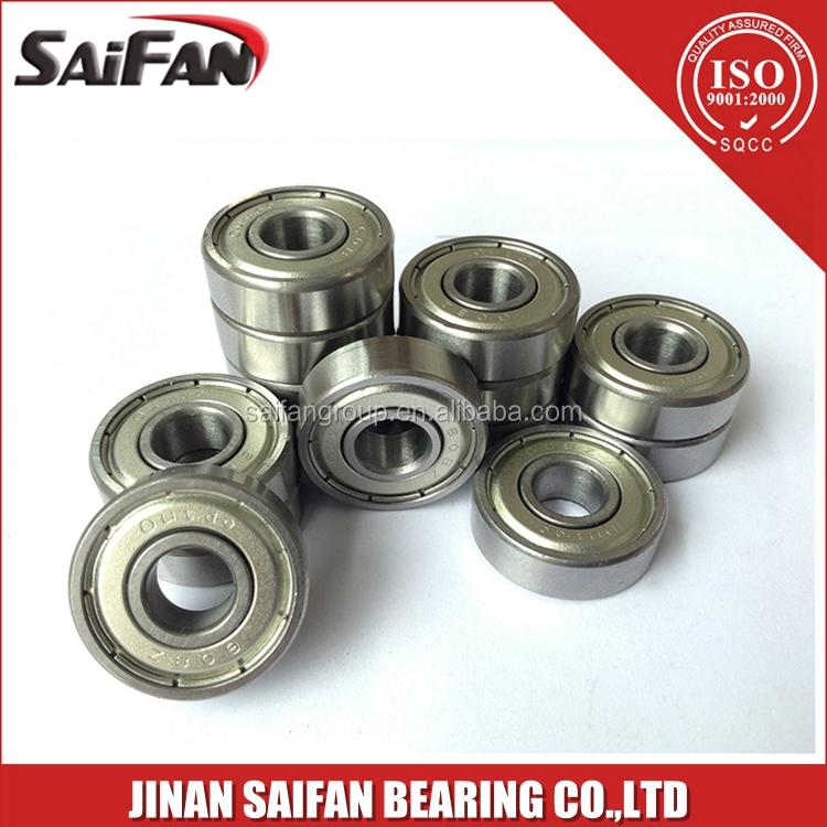 5×16×5mm Bearing High-speed 625 Steel Ball Bearing Open Design Low Maintenance