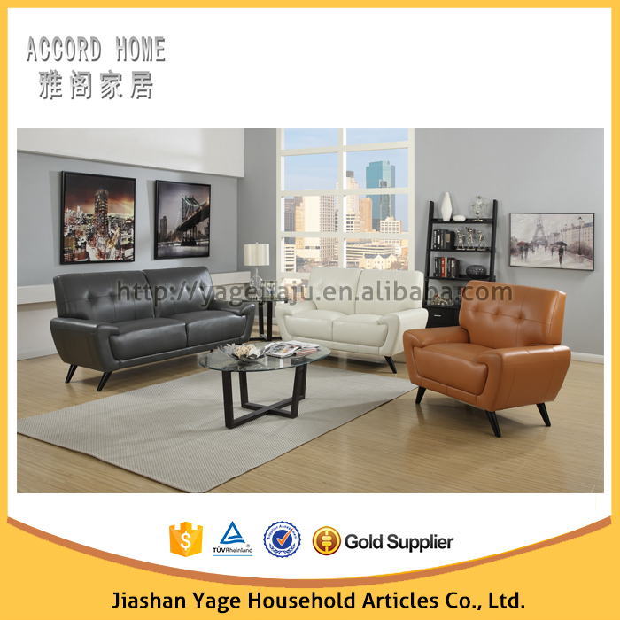 Modern sectional leather sofa designs for