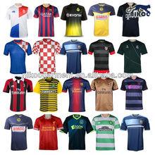 latest Newcastle United club jersey short sleeve soccer jersey kit