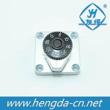 Yh1922 mecânico liga de zinco bobinas seguro combination lock