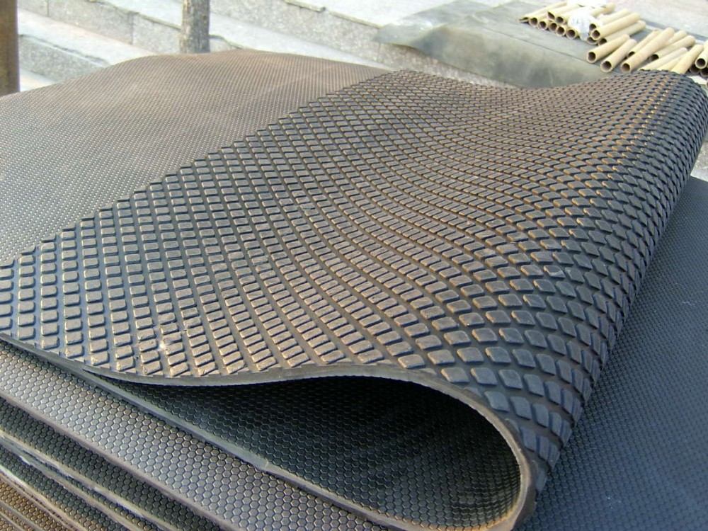 Anti Slip Agriculture Rubber Horse Stall Mats Horse