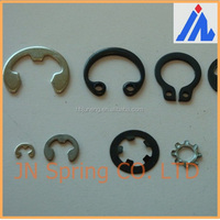 Metal Spring Clip battery contacts, locks spring wire spring