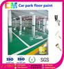 Liquid epoxy resin flooring paint for parking lot