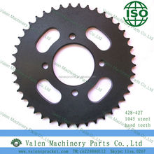 electrophoresis black with CNC for motorcycle(42T)--Valen