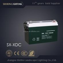 street light, garden lamp use solar battery charger 12v 48v