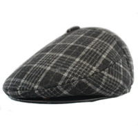 Checked Retail Sell Fashion Gatsby fabric Wholesale custom fashion beret ivy gatsby hat cap