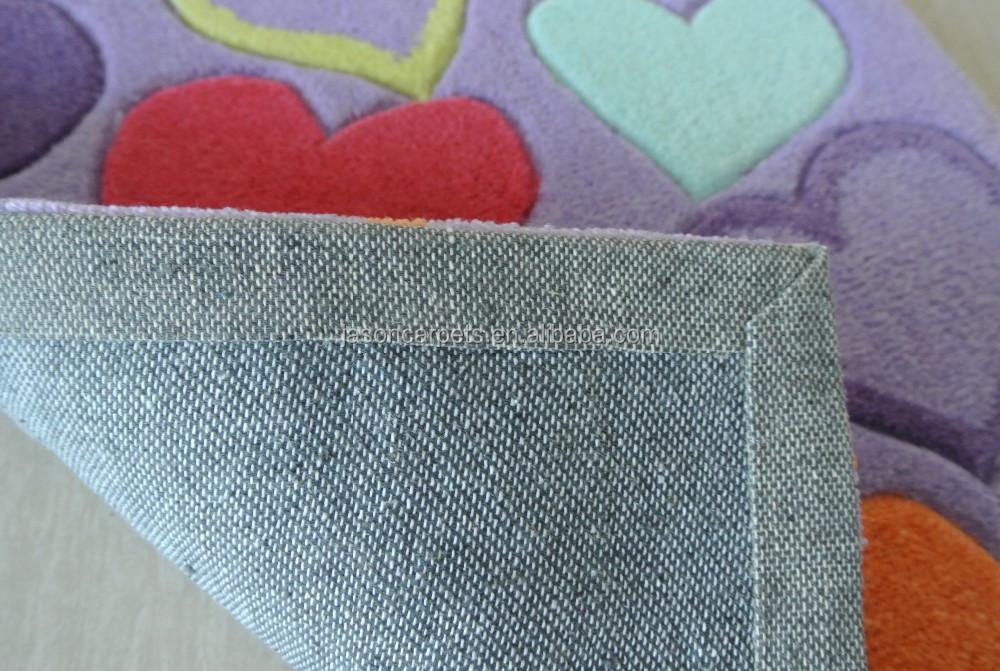 Maßgeschneiderte acryl/polyester/wolle handgefertigte gebogene ...