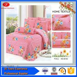 china multicolour bed cover size and colour