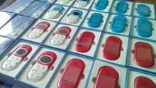 sos/gps phone for child Q5 wholesale mini cute mobile phone red and blue optional