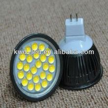 New cheap smd 3020 12v mr16 gu10 4w 5w smd led spot light