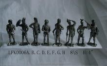 New design medieval armor knight bronze warrior statues