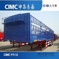 CIMC Animal Transport Fence Semi Trailer ,Fence Cargo Semi Trailer, Fence Stake Semi Trailer