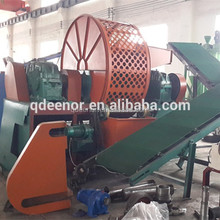 Waste Tyre Shredder / Tyre Recycling Plant / Used Tire Shredder For Sale